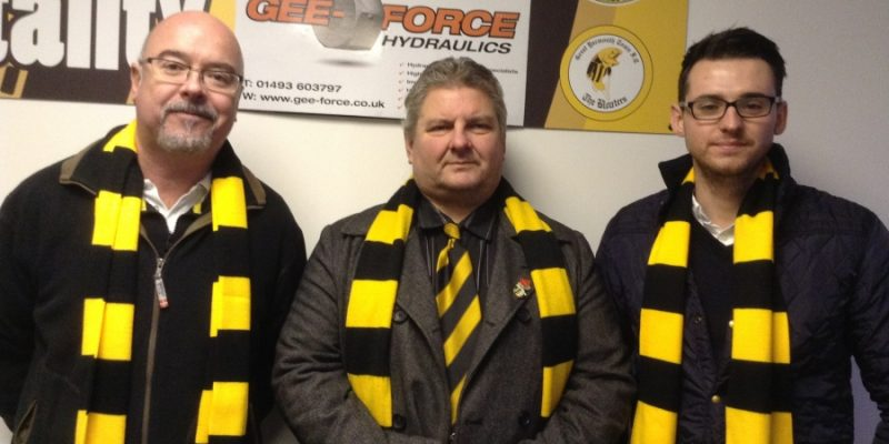 Gee-Force sponsors of football club the Bloaters