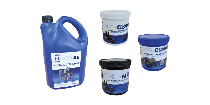 Hydraulic Oils & Bolting Lubricants