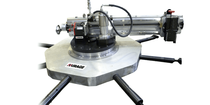 Mirage Machines MM2000i Flange Facing Machine (610mm - 2032mm)