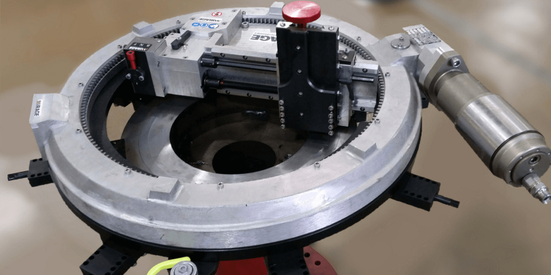 Mirage Machines MM600e Flange Facing Machine (0mm - 610mm)
